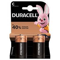 Батарейки DURACELL С/ LR14/ MN1400 KPN 02*10, упаковка по 2 штуки