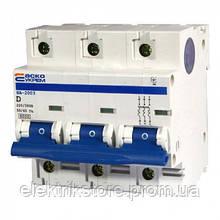Автоматичний вимикач УКРЕМ ВА-2003 3р D 80А АСКО