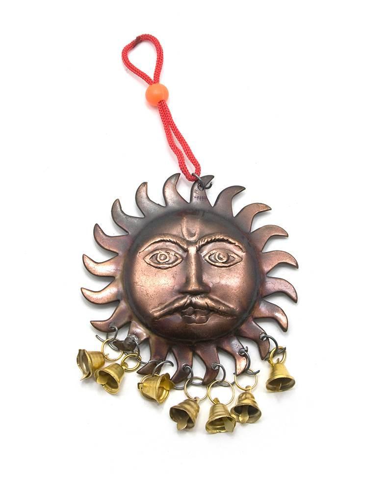 """Колокольчик """"Солнце"""" (8,5х18 см) (10шт/уп)"""