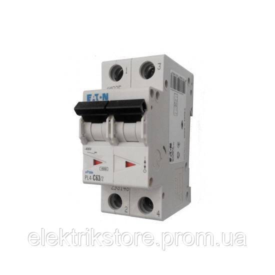 Автоматический выключатель Eaton PL4-C10/2