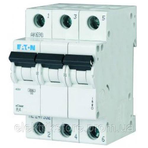 Автоматичний вимикач Eaton PL4-C10/3