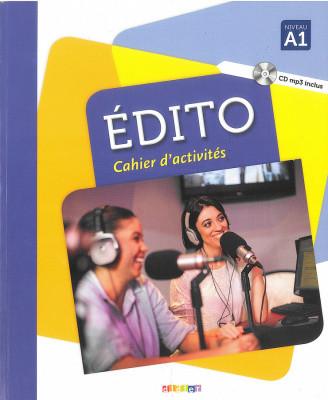 Edito A1 Cahier d'exercices + CD mp3 Edition 2016