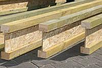 Деревянная двутавровая балка 55х100 мм