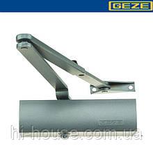 Доводчик GEZE TS 1500 серый (коленная тяга)