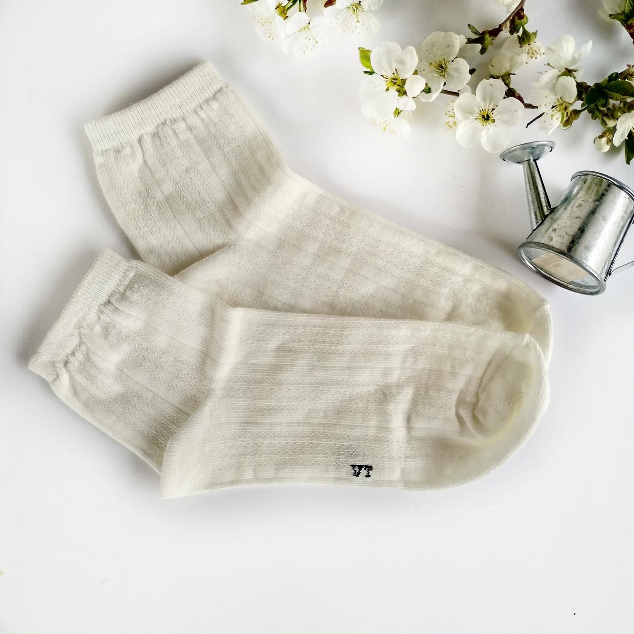 Женские носки V&T socks нежное мереживо