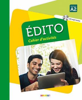 Edito A2 Cahier d'exercices + CD mp3