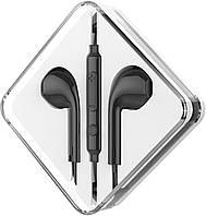 Наушники гарнитура (с микрофоном) Hoco M55 черные, фото 1