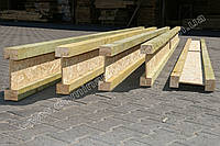 Деревянная двутавровая балка 75х320 мм