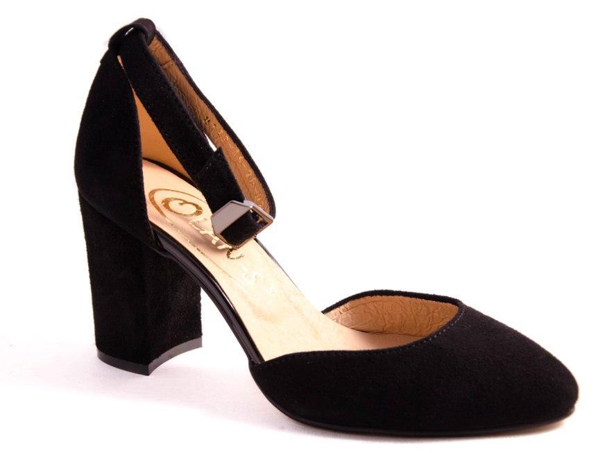 Туфли женские черные Favor 8172 р.36-40
