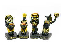 """Подсвечник  """"Египет"""" (4шт/уп)(11х5,5х4 см)"""