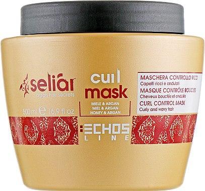 Маска для кучерявого волосся Echosline Seliar Curl Mask_500 мл