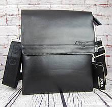 Мужская сумка-планшет Polo с ручкой. Барсетка мужская. Размер(в см) 25 на 21 КС80