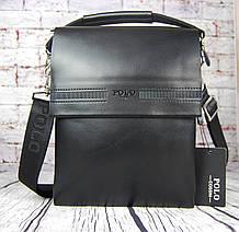 Мужская сумка-планшет Polo с ручкой. Барсетка мужская. Размер(в см) 27 на 21 КС83