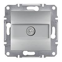 Розетка TV оконечная (1дБ) Schneider Electric Asfora цвет алюминий (EPH3200161)