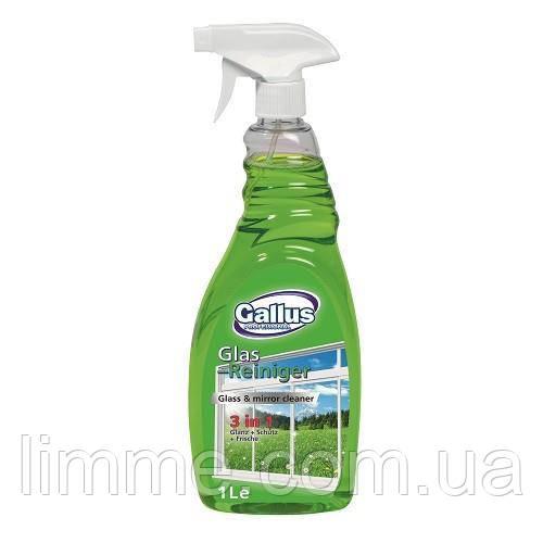 Моющее средство для окон Gallus Glas-Reiniger (зеленый) 1000 мл.