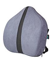 Подушка под поясницу - Сorrect Line Max, ТМ Correct Shape серо-синий