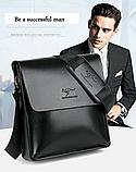 Стильная мужская сумка барсетка KANGAROO. Сумки Кенгуру. КС4, фото 3