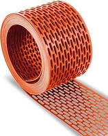 Лента вентиляционного свеса кирпичная 100мм х 5000мм