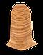 Плинтус пластиковый Lineplast L019 Дуб дартфорд с кабель каналом напольный пластиковый плинтус, фото 2
