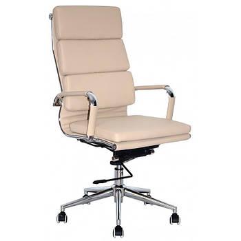 Кресло офисное Special4You Solano 2 Artleather Beige (E4701)