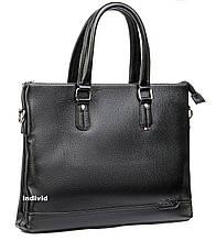 Мужская сумка Dr.Bond для документов А-4. Качественный мужской портфель для ноутбука. Офисная сумка. СП34