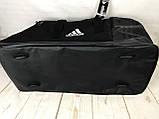 Большая дорожная сумка Adidas. Сумка в дорогу. Спортивная сумка. КСС13, фото 4