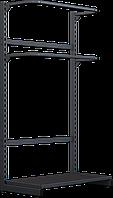 Стеллаж для одежды фронтального типа размещения / Стелаж для одягу фронтального типу розміщення