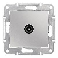 Розетка TV оконечная (1дБ) Schneider Electric Sedna алюминий (SDN3201660)