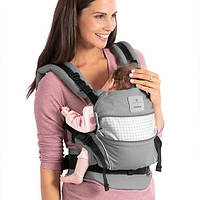 Слинг-рюкзак BELLYBUTTON by MANDUCA First SoftCheck Grey, фото 1