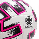 Мяч футбольный Adidas Uniforia Euro 2020 Сlub FR8067 (размер 5), фото 3