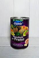 Консерва фруктовый коктейль в сиропе Diamir Macedonia de Frutas 420г/240г (Испания)