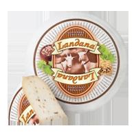 Сыр козий с кориандром и пажитником Landana Goat Cheese Coriander Fenugreek 50%