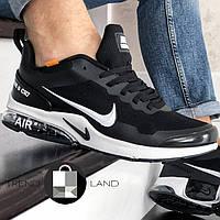 "Мужские кроссовки в стиле Nike Air Presto ""AIR"" B CR7 Black/White Черные с белым"