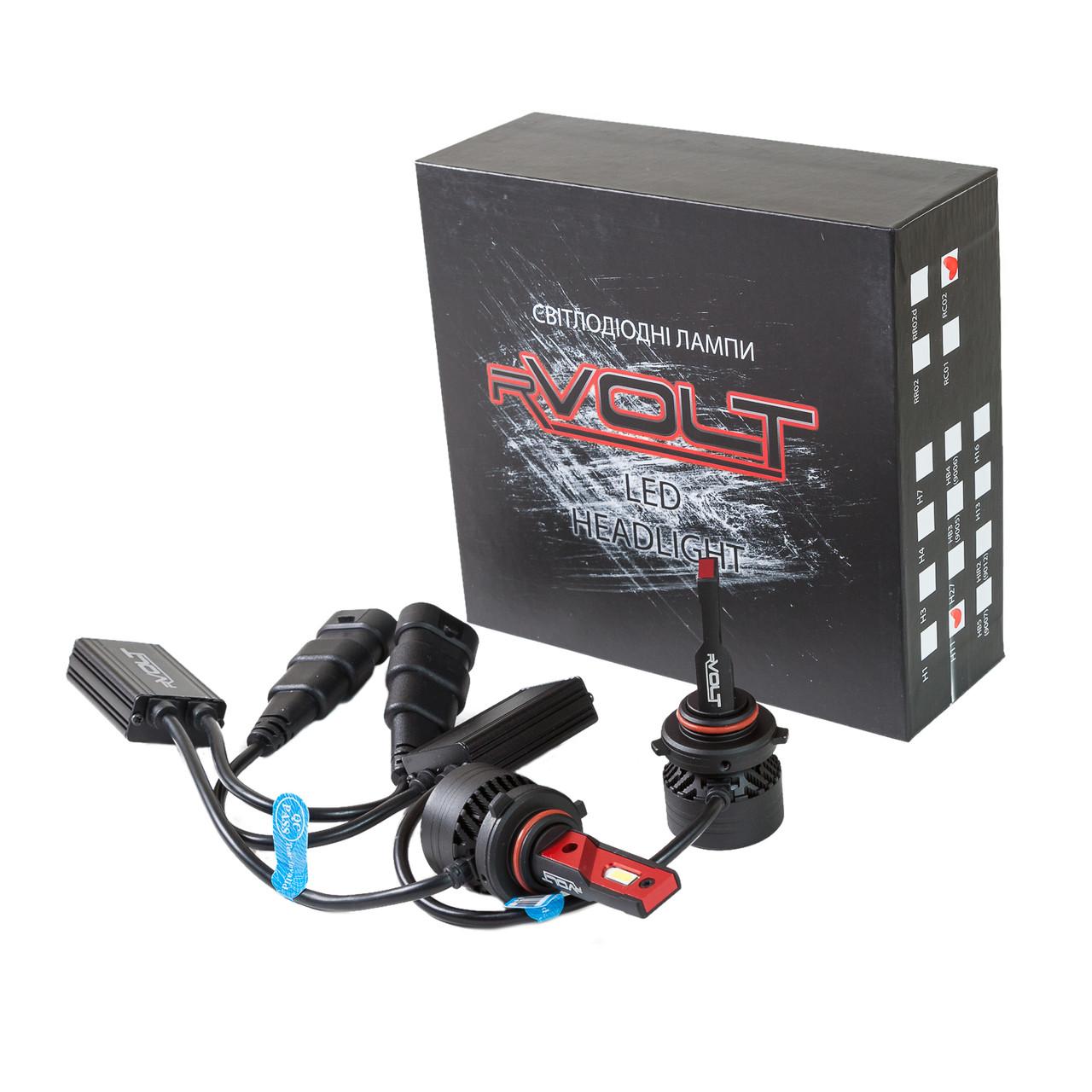 Светодиодные (LED) лампы rVolt RC02 HB3 (9005) 10000Lm (hub_PrMt51197)
