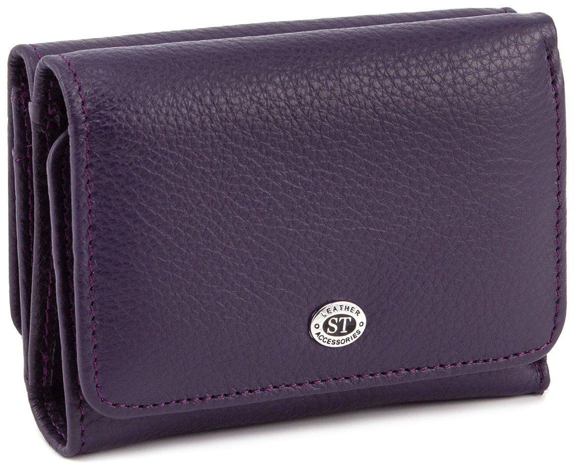 Кошелек женский кожаный ST403 Фиолетовый