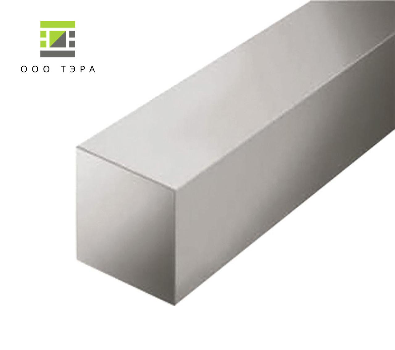 Алюминиевый квадратный пруток 150 мм 2017 Т4 квадрат дюралевый Д1Т, 150х150 мм
