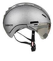 Велошлем casco roadster silver denim (MD)