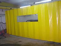 ПВХ-шторы для автомоек и автосервисов. Шторы тентовые