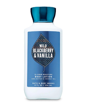 Лосьон для тела Bath&Body Works Wild Blackberry and Vanilla Body Lotion 236 мл