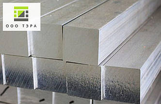 Дюралевый квадрат 25 мм 2017 Т4 алюминиевый пруток квадратный Д1Т 25х25 мм, фото 2