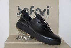Мужские спортивные туфли-мокасины Safari 90 чисто черные