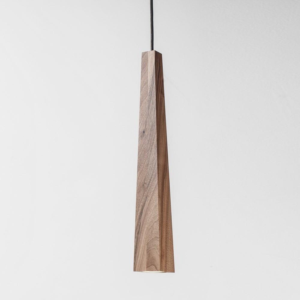 Дерев'яний підвісний світильник Adlux Candle CP-1-W Горіх (2849)