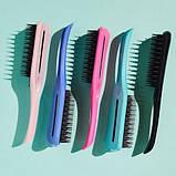 Расческа для волос Tangle Teezer Ease dry & go с ручкой Оригинал. Sweet Pea, фото 7