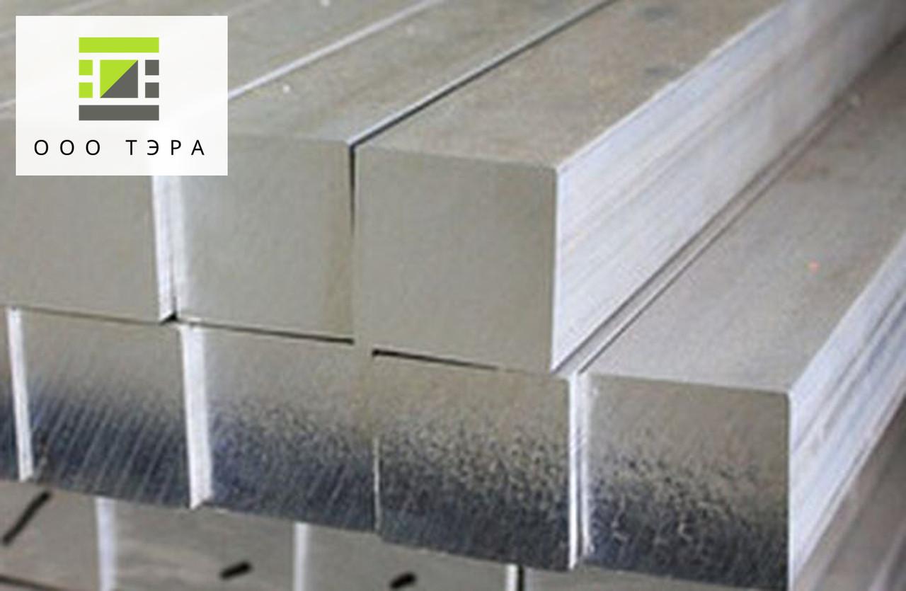 Алюминиевый пруток квадратный 40 мм 2017 Т4 квадрат дюралевый Д1Т, 40х40 мм