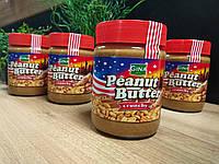 Паста арахисовая натуральная с кусочками арахиса  Peanut Butter Gina original,350г
