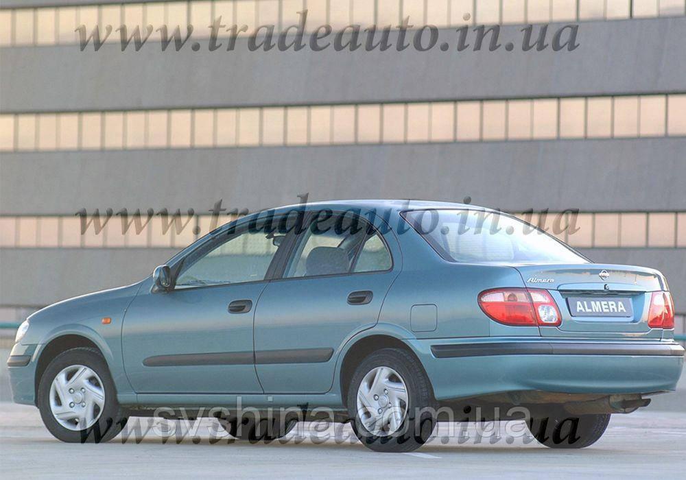 Дефлекторы окон Heko на  Nissan  Almera N16 2000-2006