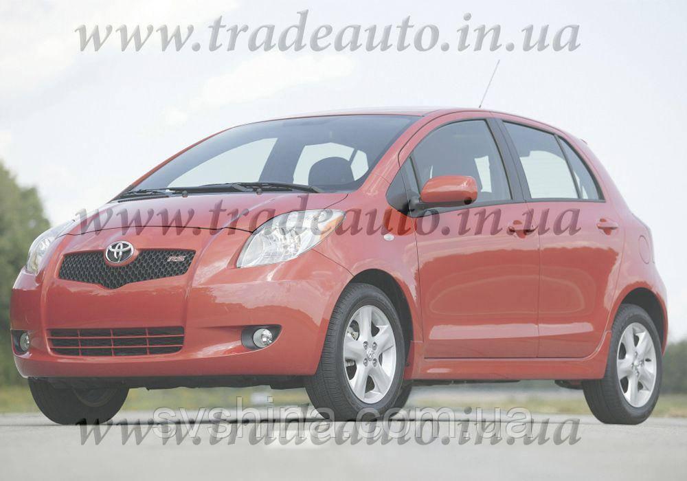 Дефлекторы окон Heko на  Toyota  Yaris 2006-2011