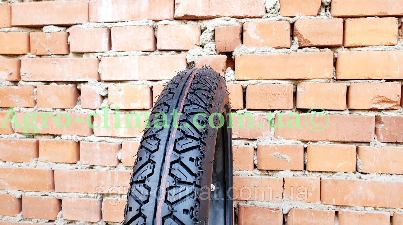 Резина на мопед 3.00-17 с камерой шоссе 6 pr, фото 1