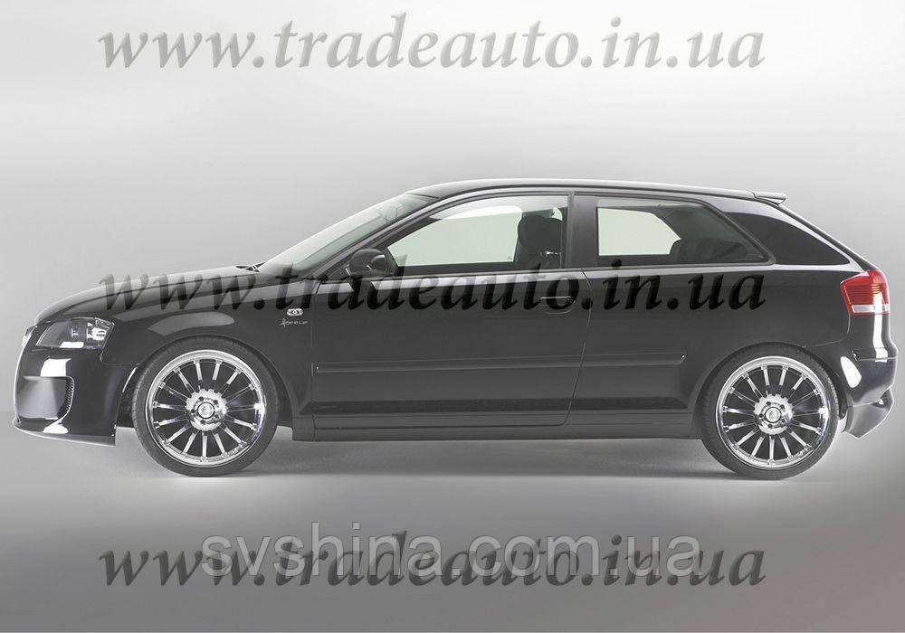 Дефлекторы окон Heko на Audi  A3 2004-> 3D