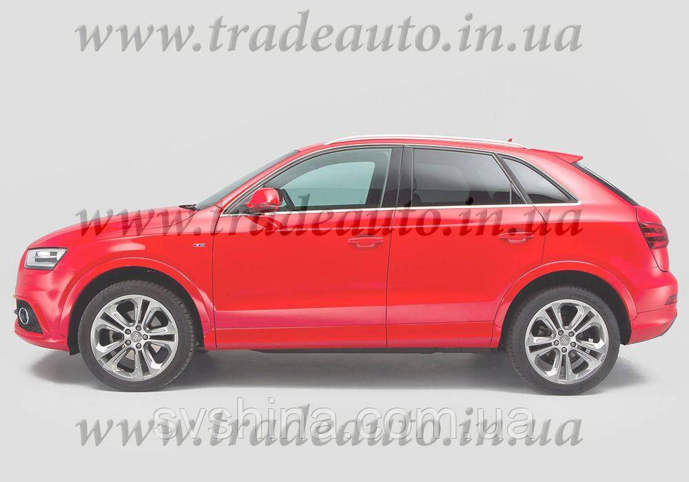 Дефлекторы окон Heko на Audi  Q3 2011 ->